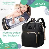 Diaper Bag Ranjang Bayi Multifungsi Tas Ransel Bayi Baby Backpack PUPA