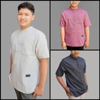 Baju atasan/ kemeja/ baju koko/ baju gamis anak remaja pria/ laki ZHAF