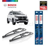 Wiper Mobil Toyota Rush Ukuran 21 & 18 Sepasang (2pcs) Bosch Advanta