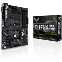 ASUS TUF B450-PLUS GAMING (AMD B450, AM4, DDR4) Support Ryzen Series