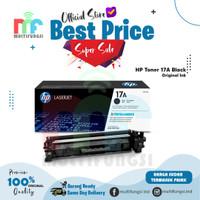 HP Black Toner 17A [CF217A] ORIGINAL 100% [GAK ORI UANG KEMBALI] ASLI