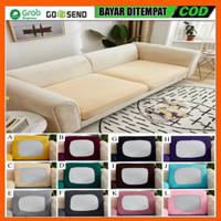 Sarung Pelindung Sofa Bentuk Persegi Bahan Kain Tebal Elastis Untuk Ku
