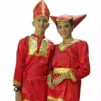 Baju Adat Padang ukuran dewasa kostum karnaval kartinian tarian