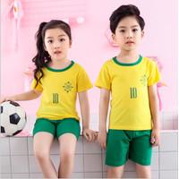 Baju Setelan Anak Lengan Pendek Usia 1-10 Tahun