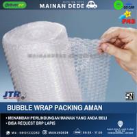Extra Bubble Wrap untuk Packaging Aman