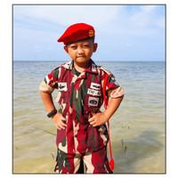Baju loreng Pasukan Khusus Kopassus anak Loreng TNI Kopassus