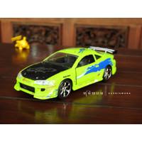 Jada Brian's Mitsubishi Eclipse Diecast Skala 32 Brian Fast & Furious