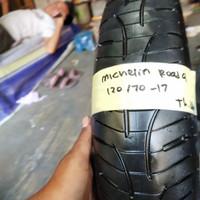 Ban bekas Moge Michelin Pilot Road 4 120 70 17 not Batlax Pirelli