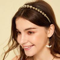 bando mutiara creative pearl retro headband jba040