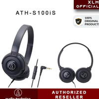 Audio Technica Ath-S100Is / S100 Is (Ex) Portable Headphone - Black