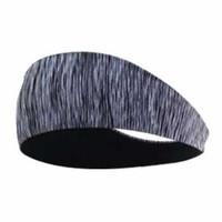 HappySport Bandana Headband Olahraga Elastic Sport Hairbands - Gray