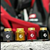 RDA hotcig Garuda Yellow Grey Red Black By hotcigofficial Automizer