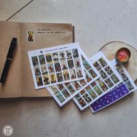 Tarot Sticker | Edisi Smith - Waite