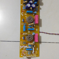 Audio Preamplifier Buffer vacuum tube 6DJ8 LS29 PCB board+parts.