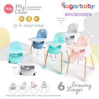 SUGAR BABY MY CHAIRBABY BOOSTER AND HIGH CHAIR