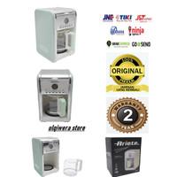 Mesin kopi drip filter coffe machine ariete vintage green 12 cups