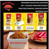 Aneka Abon Ayam/Tuna/Cakalang/Lele Dapur Sehati