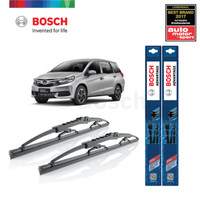 "Wiper Mobil Honda Mobilio Ukuran 22"" & 16"" Sepasang (2pcs) Bosch Advan"