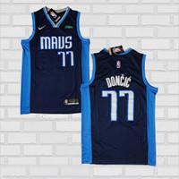 Baju Jersey Basket Swingman NBA Luka Doncic Dallas Mavericks Earned Ed
