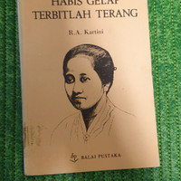 Buku HABIS GELAP TERBITLAH TERANG OLEH R.A. KARTINI