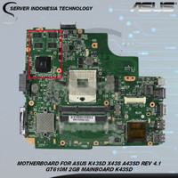MOTHERBOARD FOR ASUS K43SD X43S A43SD REV 4.1 GT610M MAINBOARD K43SD