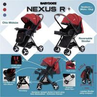 Stroller Babydoes Nexuz R+ / Nexus R + Kereta Dorong Anak Bayi