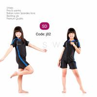 Baju renang anak laki-laki perempuan SD diving cewek cowok pendek