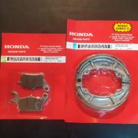 Kampas rem 1 set Honda vario 125, Beat fi, Scoopy, Vario 150