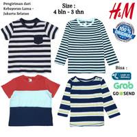 Baju Kaos HnM HM Anak Laki 8 Original Branded - Atasan Anak Cowok H&M