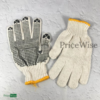 Sarung Tangan Bangunan Kain Bintik/Dot Safety Glove