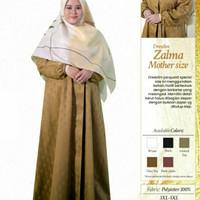 Rabbani Dresslim Zalma Mother Size Gamis Baju Muslim Wanita Jumbo