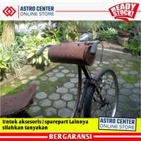 Onthel - Tas Stang / Stir Sepeda Onthel Model Tabung Bahan Kulit