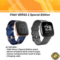 Fitbit Versa 2 SE Special Edition Health & Fitness Smartwatch