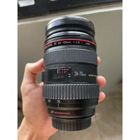 Lensa Canon 24-70 f2.8 L USM fullset murah meriah