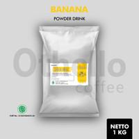 Banana powder drink 1kg Othello - Bubuk minuman rasa pisang 1kg
