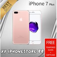 APPLE IPHONE 7 PLUS 128GB ORIGINAL NEW GARANSI TOKO 1 TAHUN - ROSEGOLD