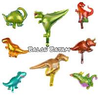 Balon Foil Karakter mini dinosaurus +- 30cm