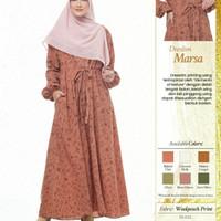 Rabbani Dresslim Marsa Gamis Baju Muslim Wanita Dewasa