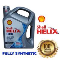 Oli Shell Helix HX8 5W30/OLI Shell Helix hx8 5W-30 Galon 4L
