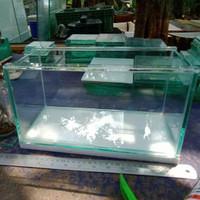 Ready Aquarium kaca bening baru tebal 8mm & 10mm/ Aquascape