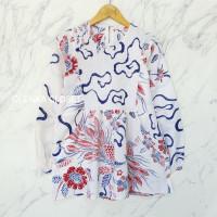 Atasan Batik 53 Baju Blouse Blus Kerja wanita Modern