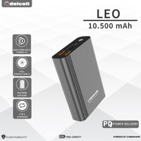 New Arrival Delcell LEO Powerbank 10500mAh QC 3.0 and PD Real Capacity