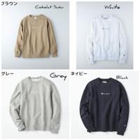Champion Crewneck Sweater Mini Script Original Japan