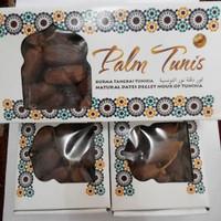 kurma palm tunis 500gr/ palm tunis tangkai/ natural dates