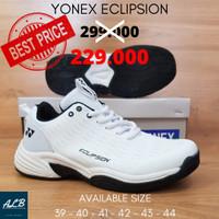 FLASH SALE Sepatu Badminton / Bulutangkis Yonex Eclipsion putih