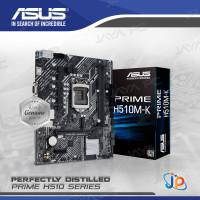 Motherboard ASUS PRIME H510M-K (LGA1200, H510, DDR4, USB3.2, SATA3)