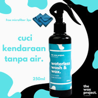 Waterless Wash & Wax - Cuci Mobil Kilap Hydrophobic Tanpa Air