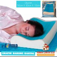 Bantal Tidur Memory Foam Leher Cool Gel (J&T&GRAB)/Pillow Memory Foam