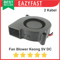 Blower Fan Kipas Angin Keong DC 5V Turbo Brushless Fan Cooler