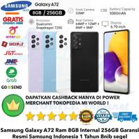 Samsung Galaxy A72 8GB/256GB A 72 8/256Gb Samsung A72 8/256 RESMI NEW